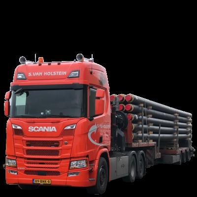 S van Holstein Transport Buizen Transport