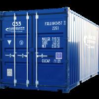 opslagcontainer verhuur verkoop 20ft