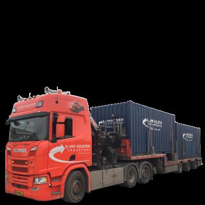 S van Holstein Container Verhuur en Transport